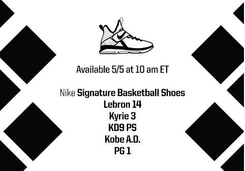 View Shoe Release Dates at Eastbay